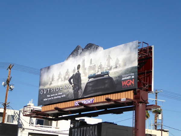 Outsiders special extension billboard
