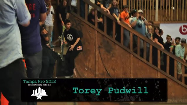 Skate Park of Tampa 2012 Street Results, Torey Pudwill,  Chaz Ortiz,  Sean Malto, Tampa Pro 2012