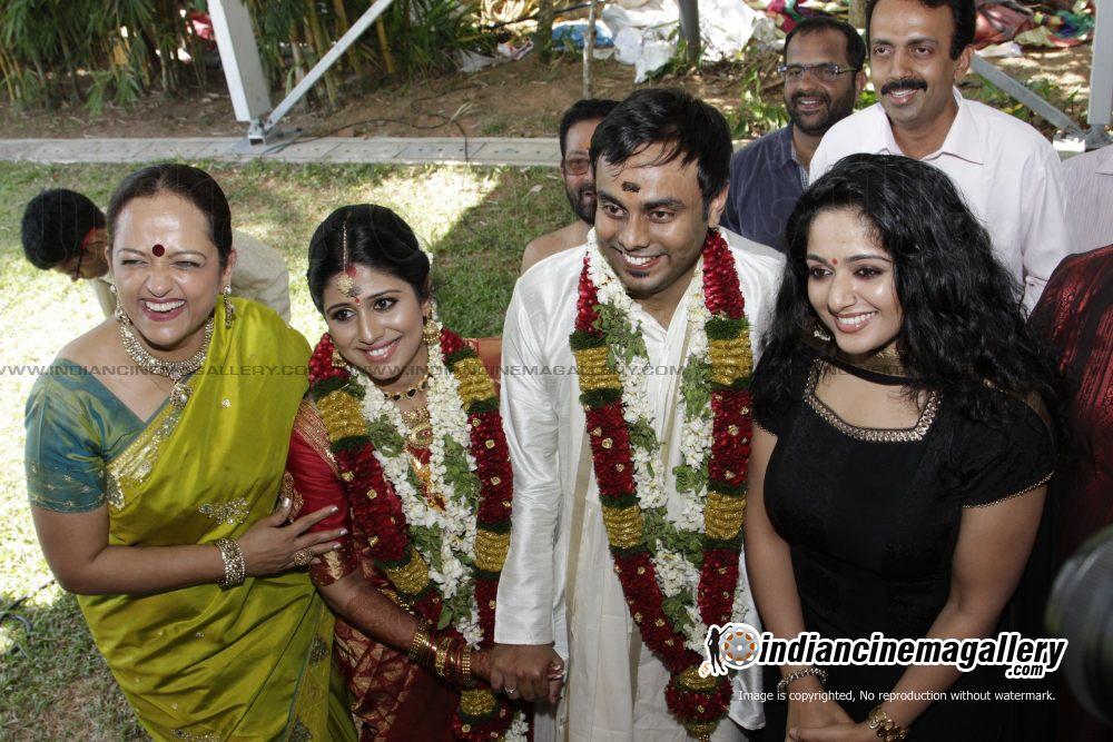 mallu singer ranjini jose marriage reception photos