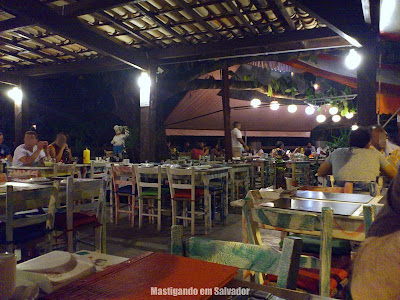 Restaurante Marinata: Ambiente da unidade do Stiep