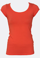 Tricou VILA Ladune Orange (VILA)