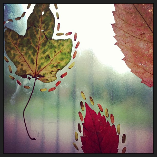 Simple fall nature art