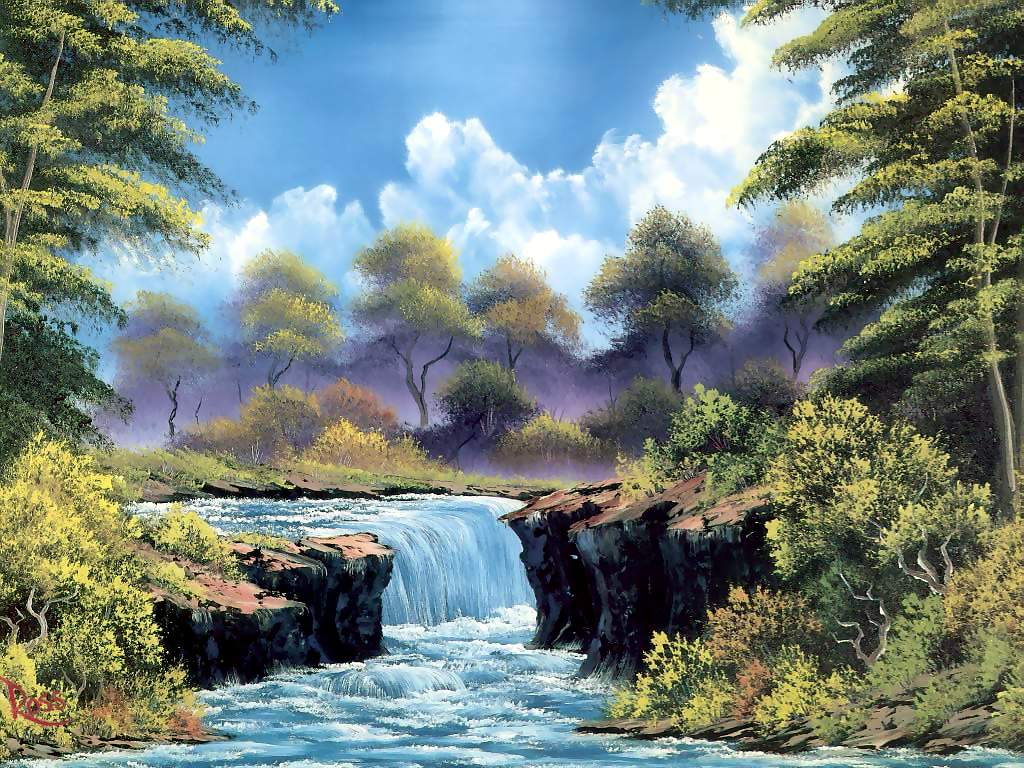 bob ross paintings by - photo #7