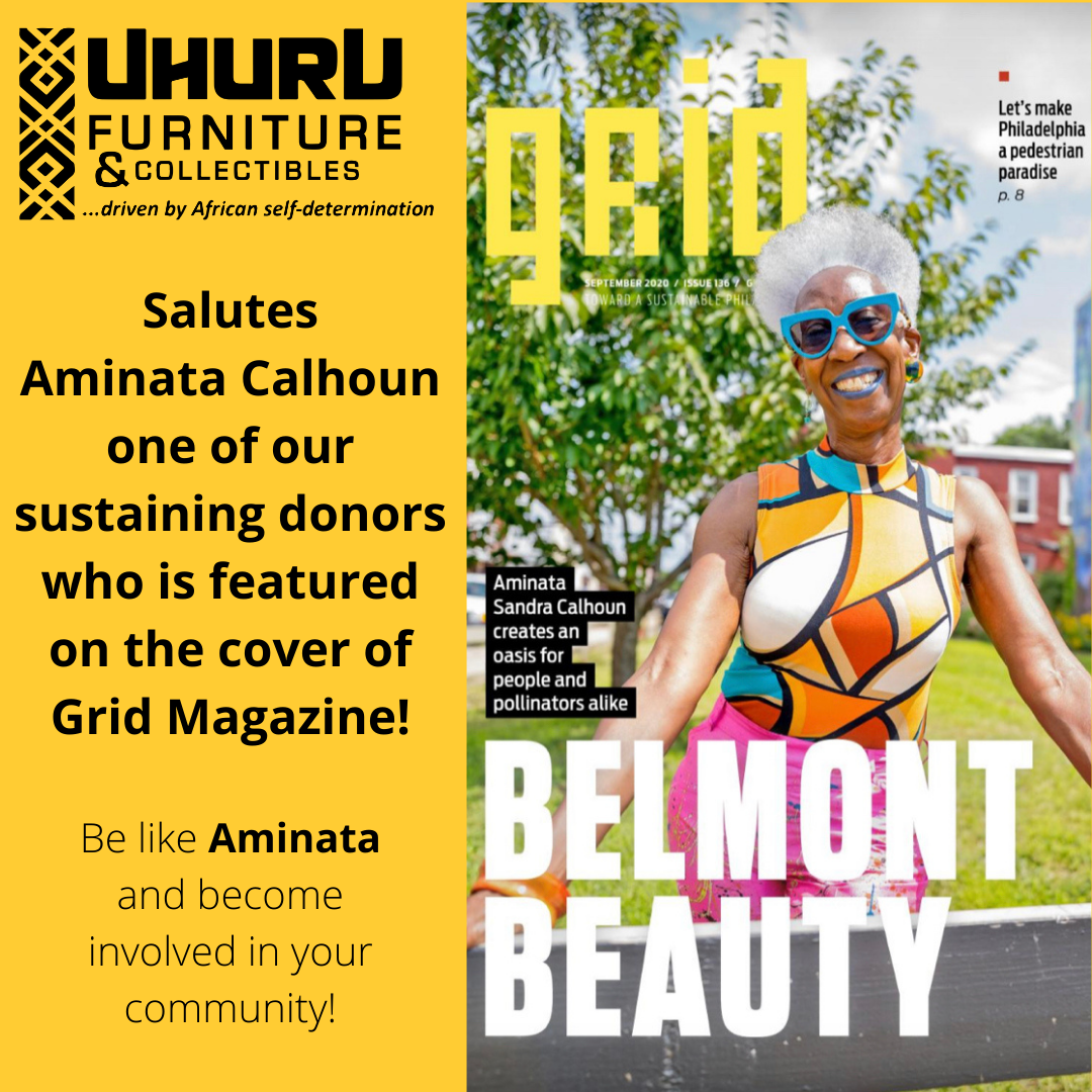 Be like Aminata! Support APEDF, shop at and donate to Uhuru Furniture!