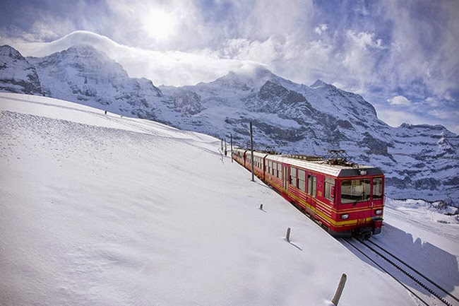 Jungfraujoch Railway Station, Switzerland