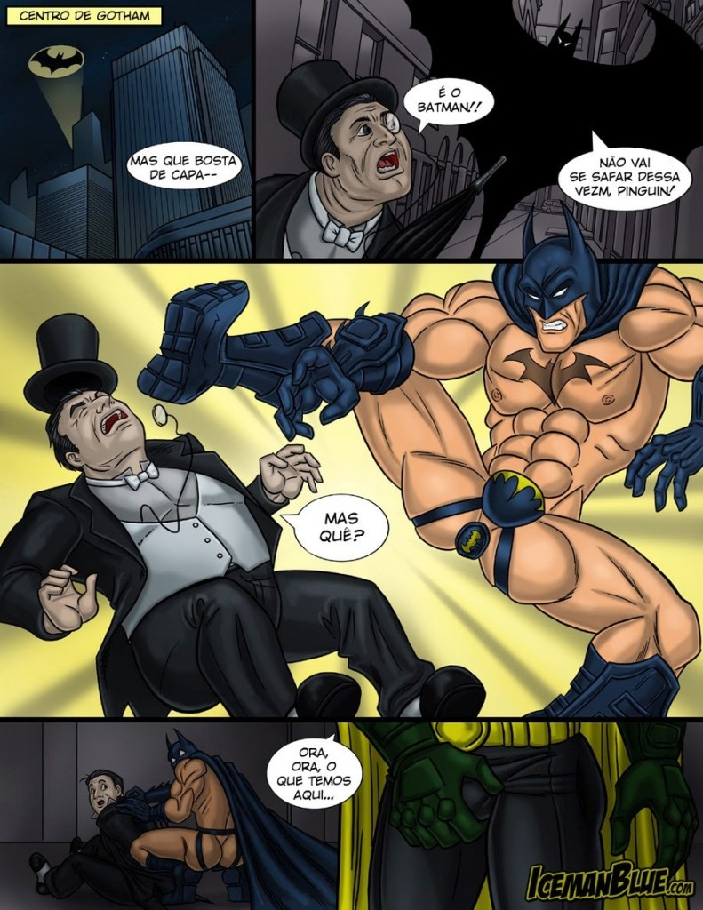 from Dane batman and gay robin