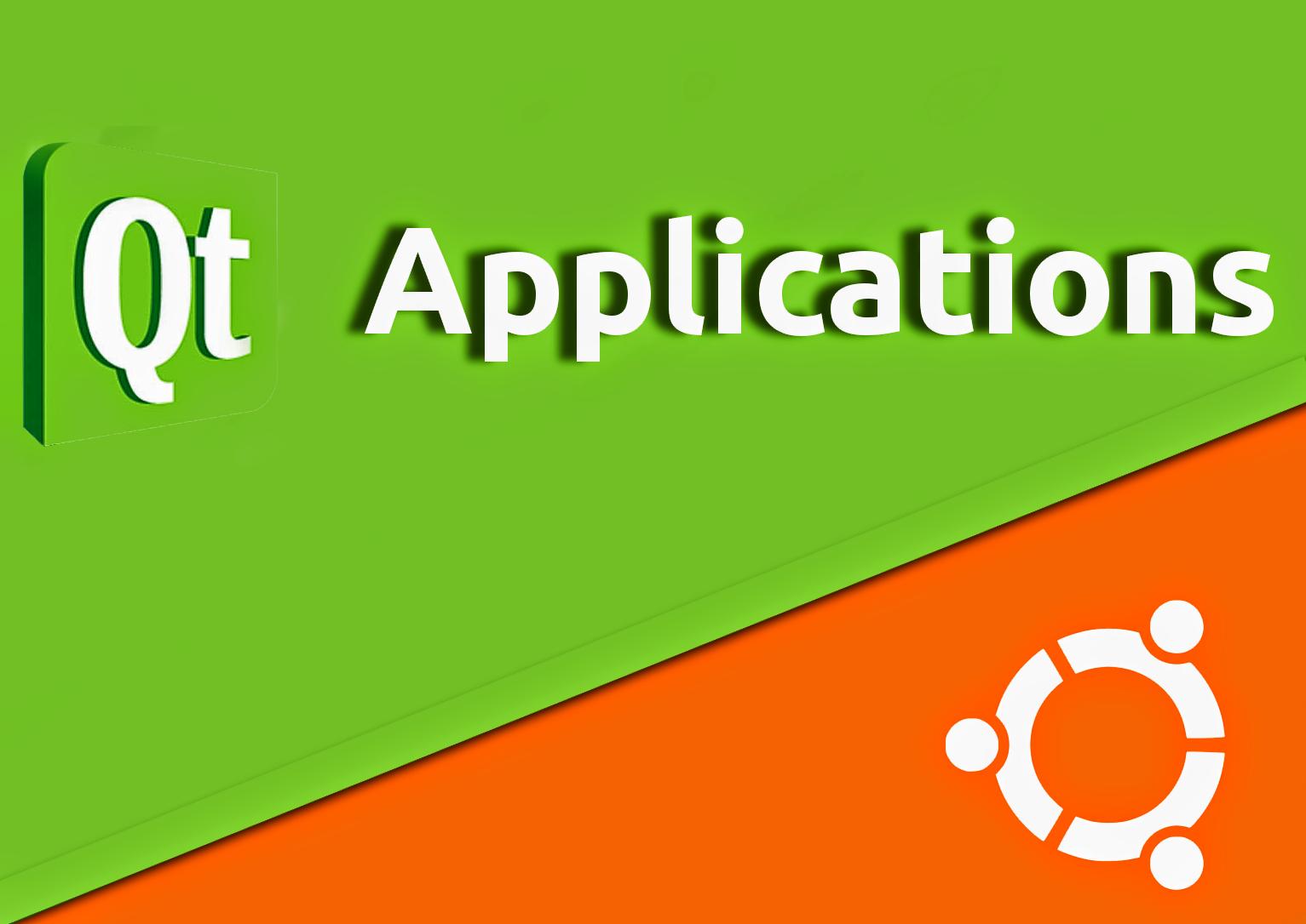 Aplicações em QT no Ubuntu