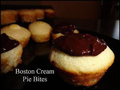 Boston Cream Pie Bites, Boston Cream Pie, Boston Cream cupcakes