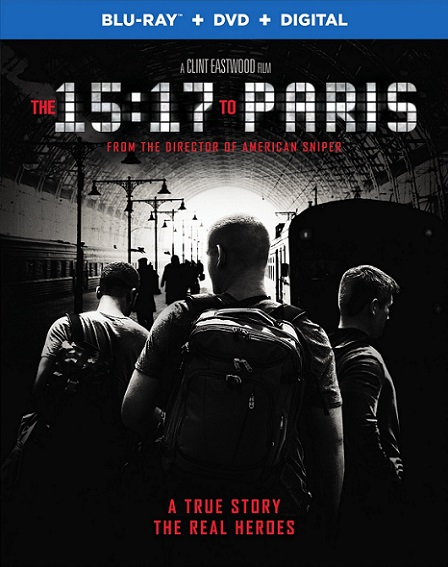 The 15:17 to Paris (15:17 Tren a París) (2018) 1080p BluRay REMUX 21GB mkv Dual Audio Dolby TrueHD ATMOS 7.1 ch
