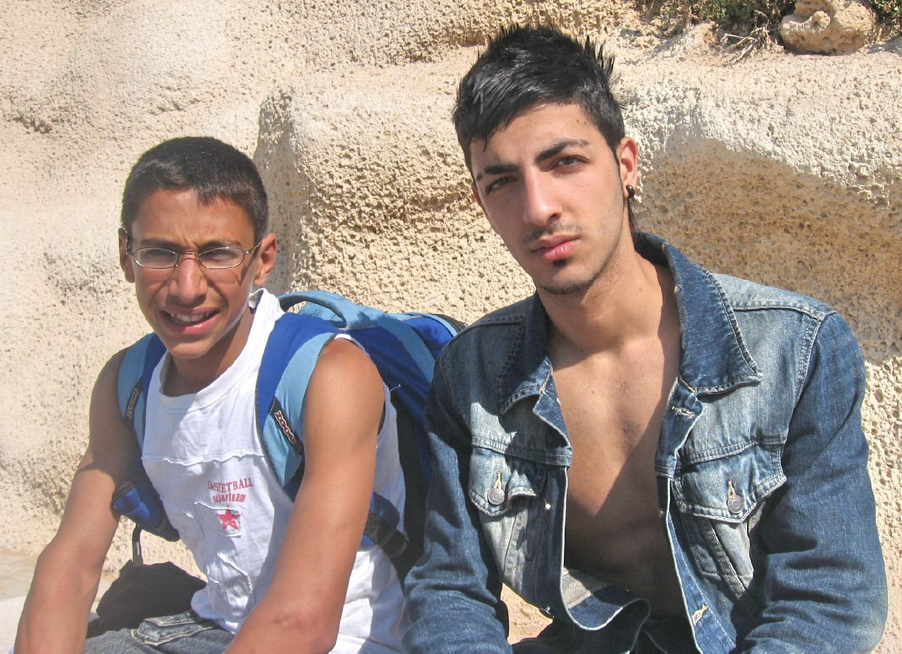 Kosher Israeli Dicks: Two young boys from Tel Aviv