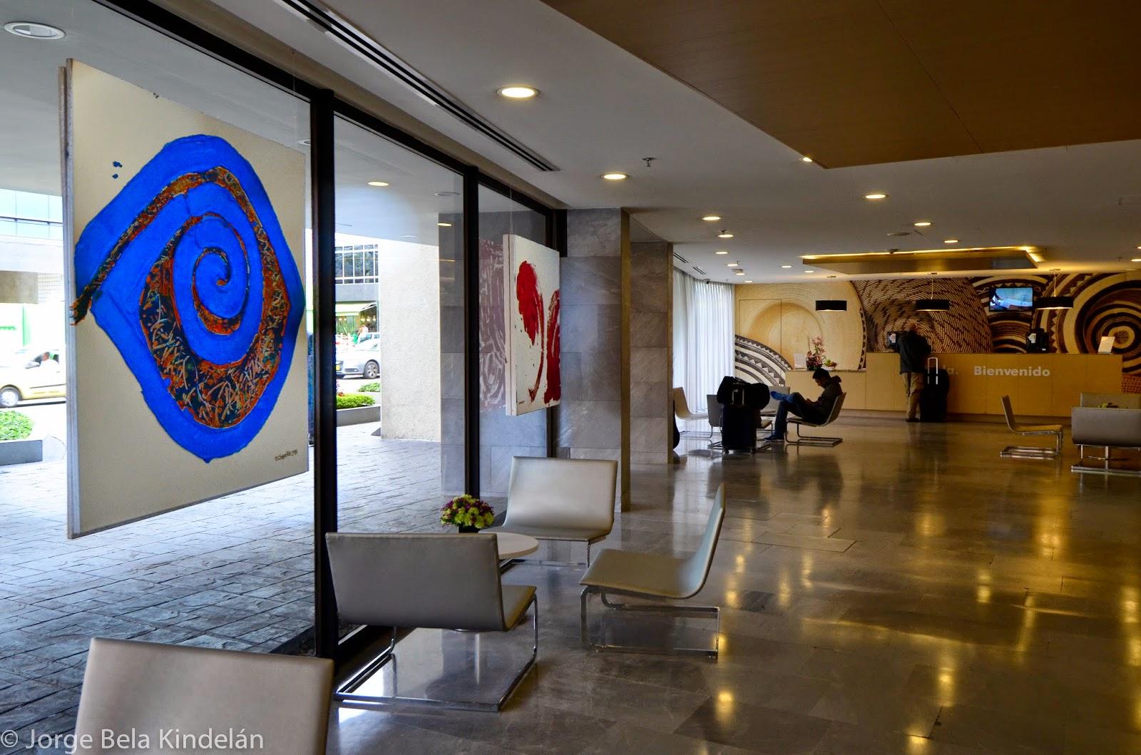 Arte en el hotel NH Bogota 93