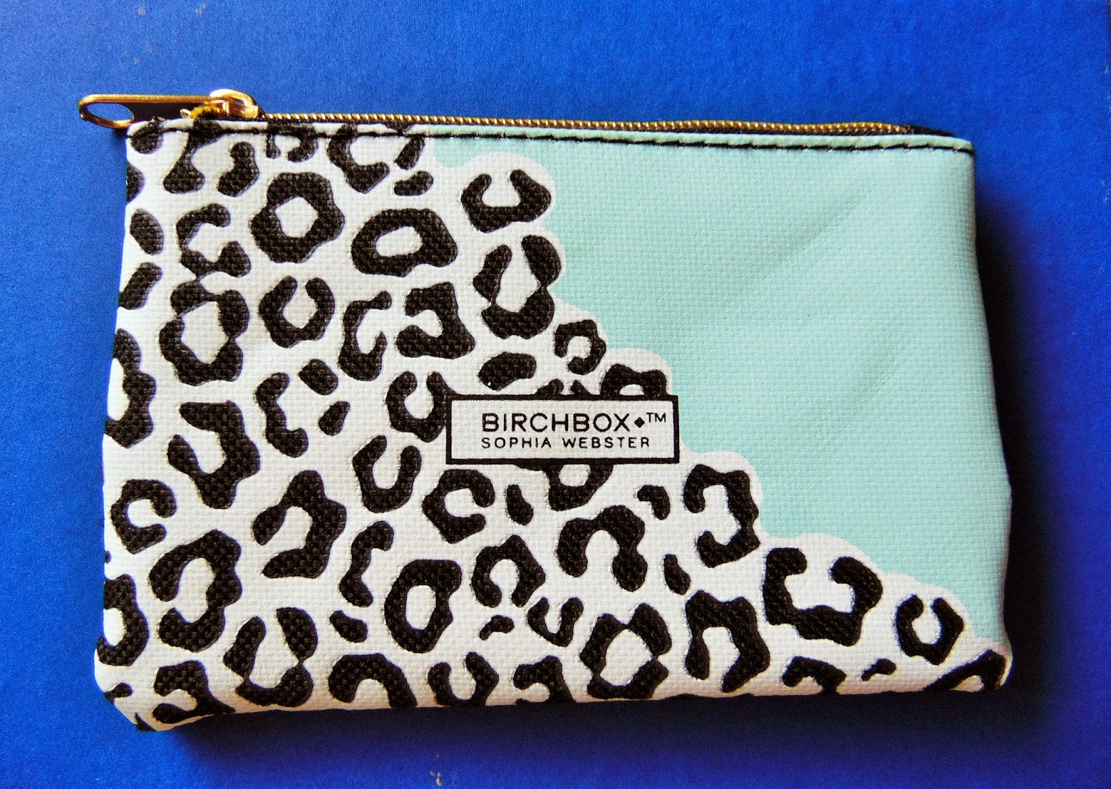 Birchbox opening and review Sophia Webster edition purse