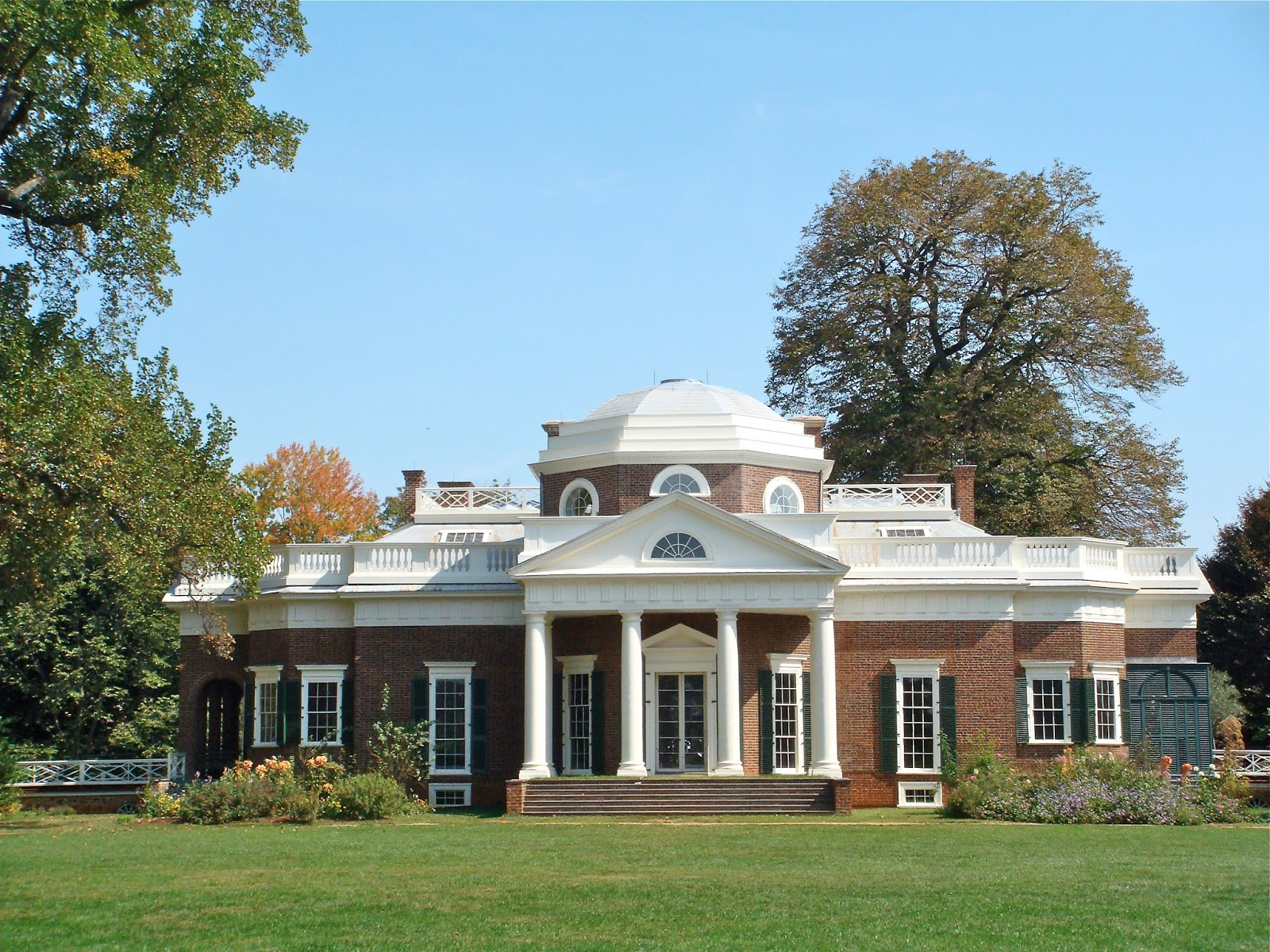 Sweet southern days back country roads of virginia for Thomas jefferson house monticello