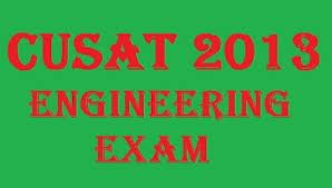 CUSAT CAT Entrance Exam 2013