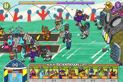 Defiende y ataca en el juego Monster VS Zombie
