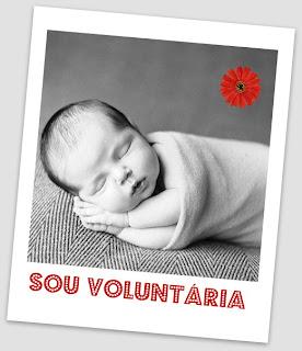 Imagem editada - Sou Voluntária