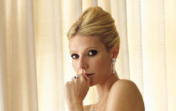 Gwyneth Paltrow (presque) nue dans Vanity Fair