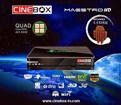 Atualizacao do receptor Cinebox Maestro HD V2.5.1
