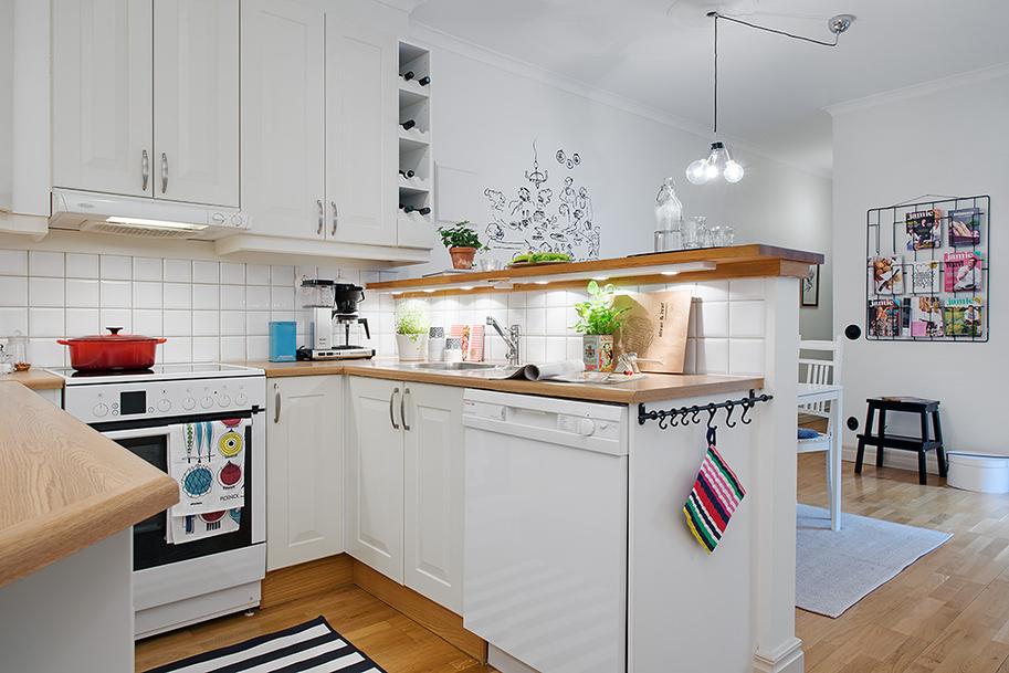Querido ref gio blog de decora o cozinhas pequenas for Cocina comedor 3x3