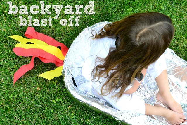 Mommy Testers DIY Space camp  DIY rocket ship from foil astronaut costume #Unplug2Play #cbias