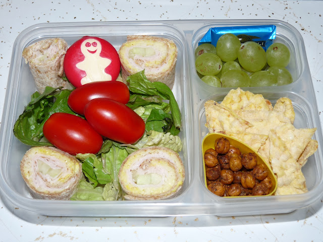 roasted chickpea bento lunch