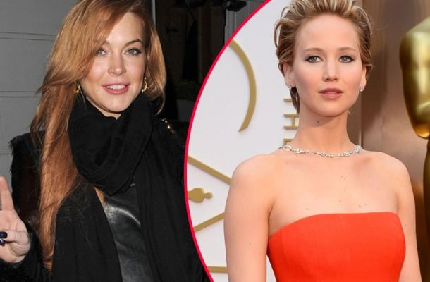 Lindsay Lohan upset with Jennifer Lawrence