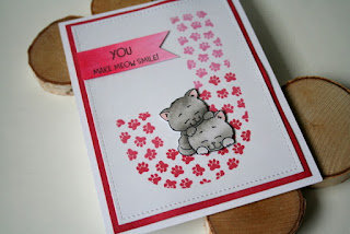 Custom Monogram Card by Jess Crafts featuring Gerda Steiner Designs