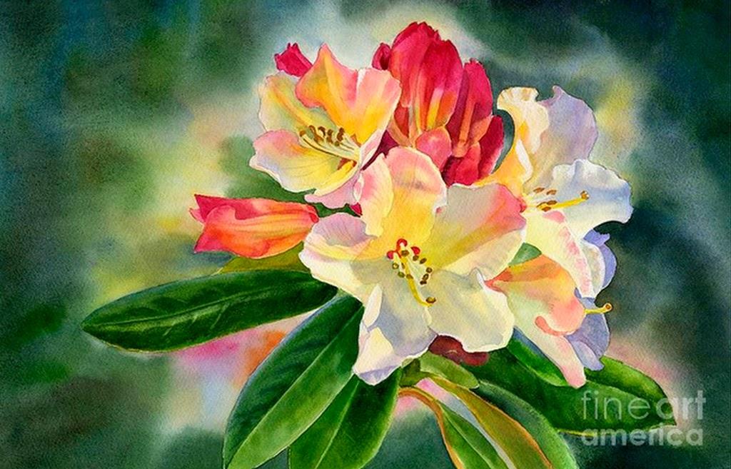 pinturas-de-acuarelas-flores