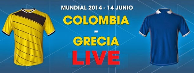 Columbia Grecia live 14 iunie Cupa Mondiala 2014