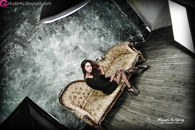 4 Hot Black - Park Hyun Sun-very cute asian girl-girlcute4u.blogspot.com