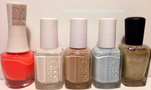 the face shop or206 essie blanc essie cocktails and coconuts essie find me an oasis zoya pixie dust tomoko