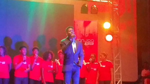 Adekunle Gold at The InnJoo #PowerInNigeria Launch Event