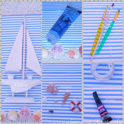 materiales pintar velero
