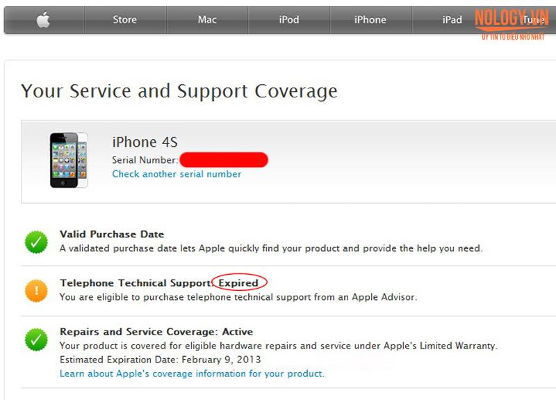 Cách nhận biết Iphone 5 chưa active