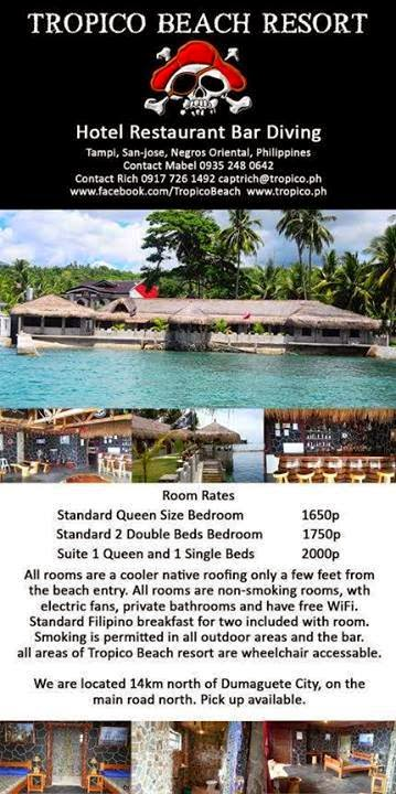 Tropico Beach Resort, current price list