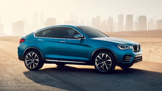 BMW Concept X4 side