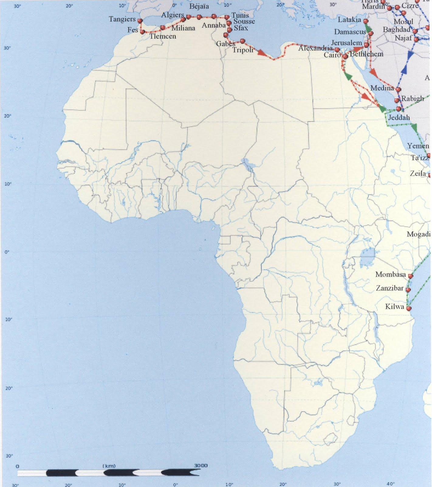 Kilwa On World Map