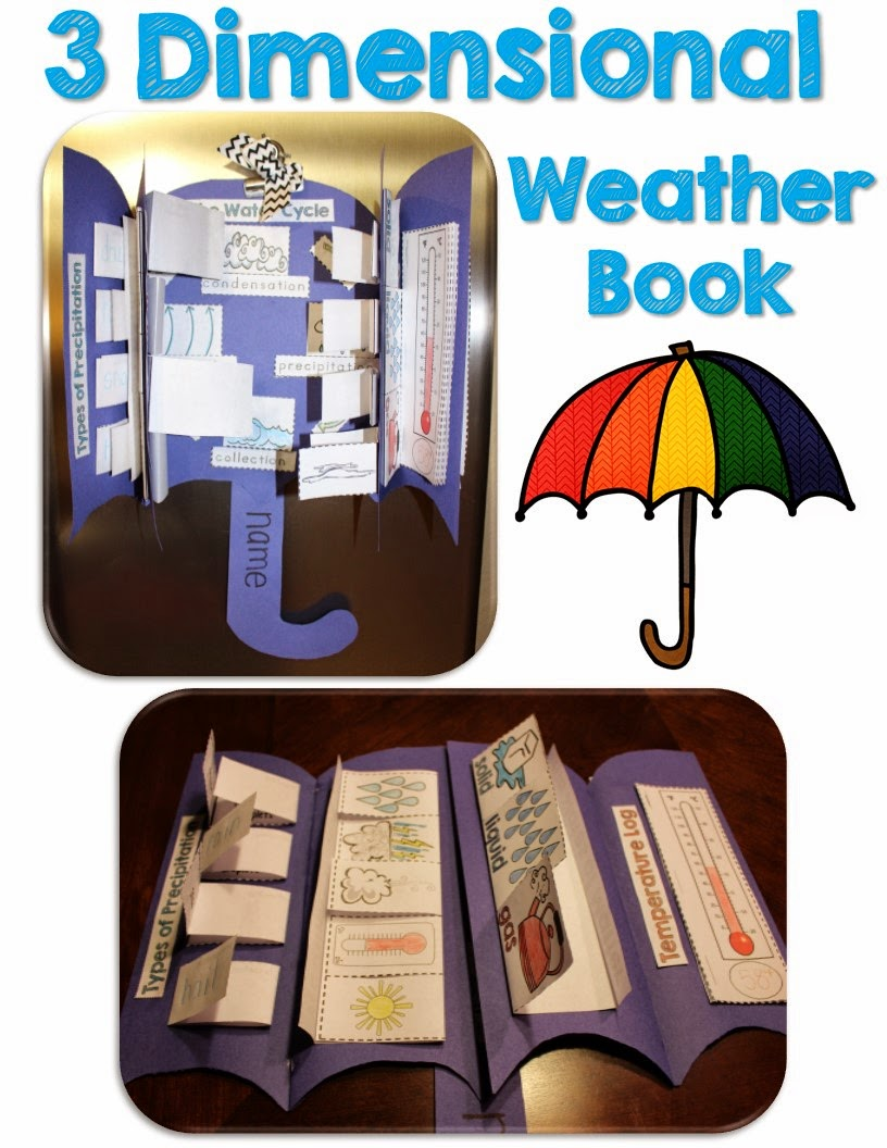http://www.teacherspayteachers.com/Product/Weather-Interactive-Activities-1582844