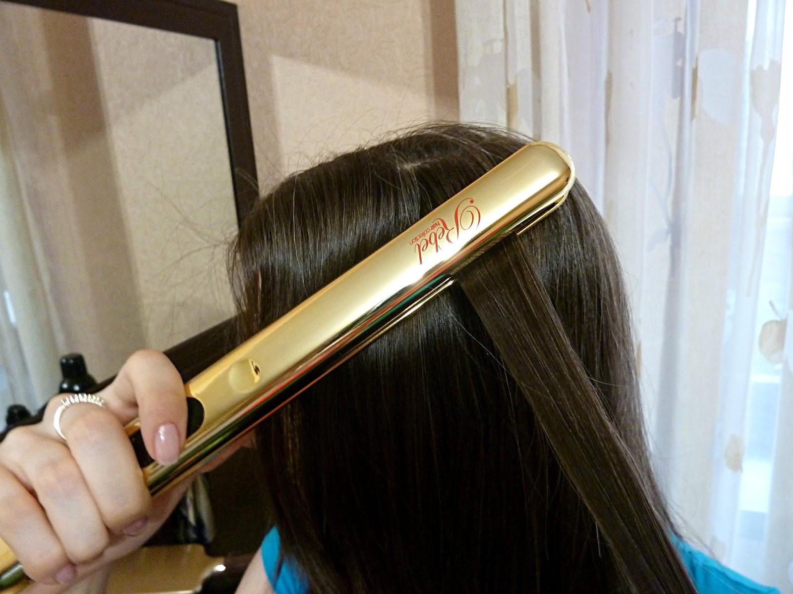 Выровнять волосы в домашних условиях без утюжка 135