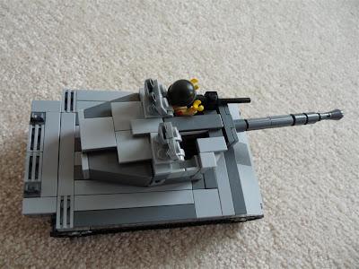 Lego - M18 Hellcat Tank