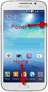Take Screenshot On Samsung Galaxy Mega