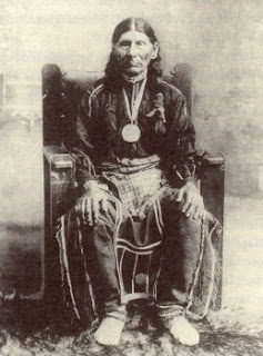 Chief White Eagle of the Pawnee