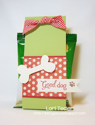 Good Dog Treat Wrap-designed by Lori Tecler-Inking Aloud-stamps and dies from Paper Smooches