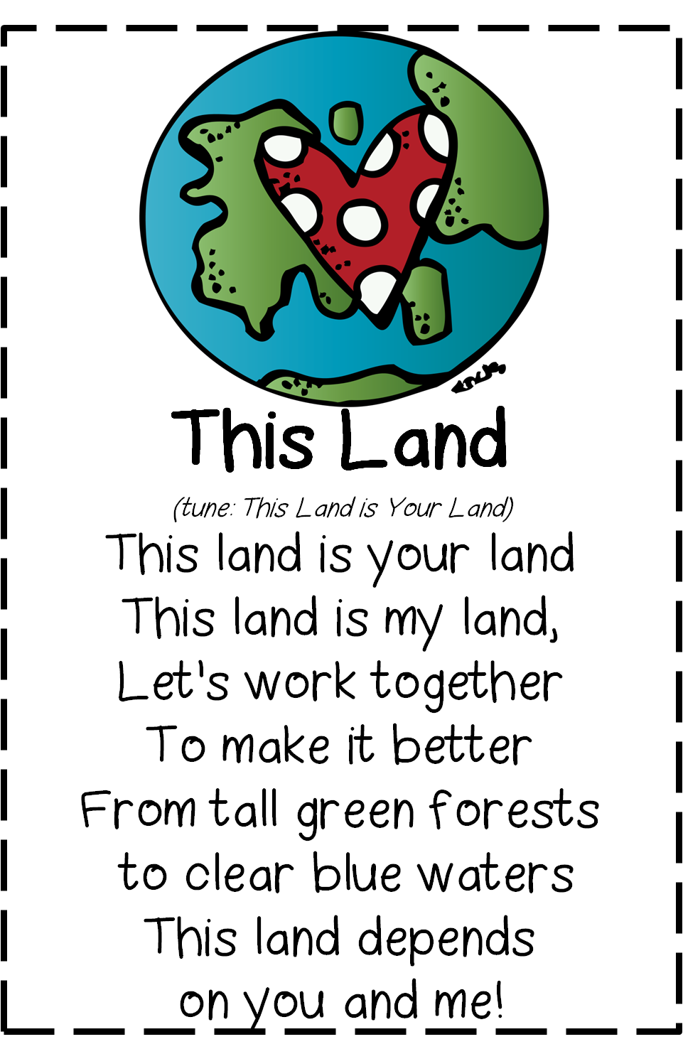 earth day poems for kids - photo #5