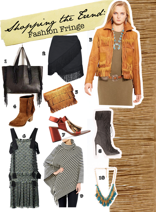 Where to buy fringe in fashion
