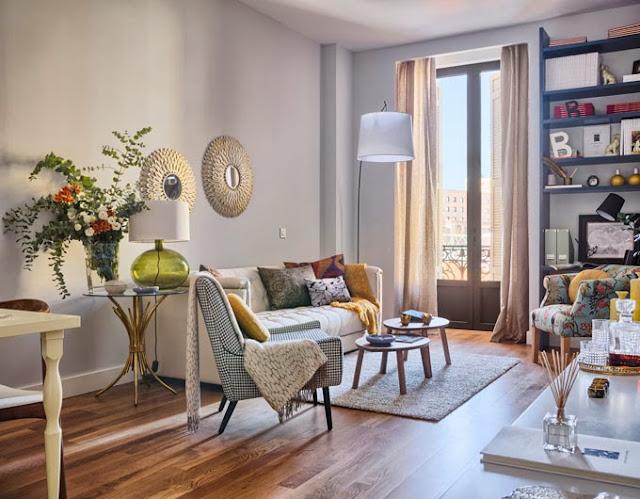 un piso encantador en Málaga