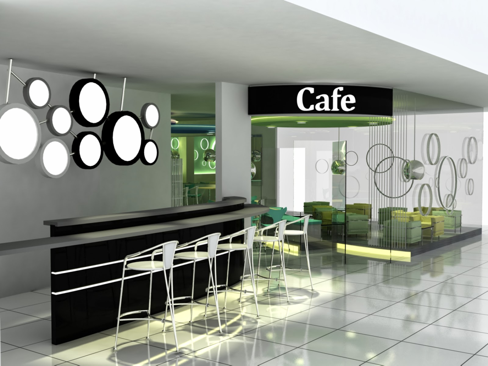 Interior design spgg cafe proposal concept under
