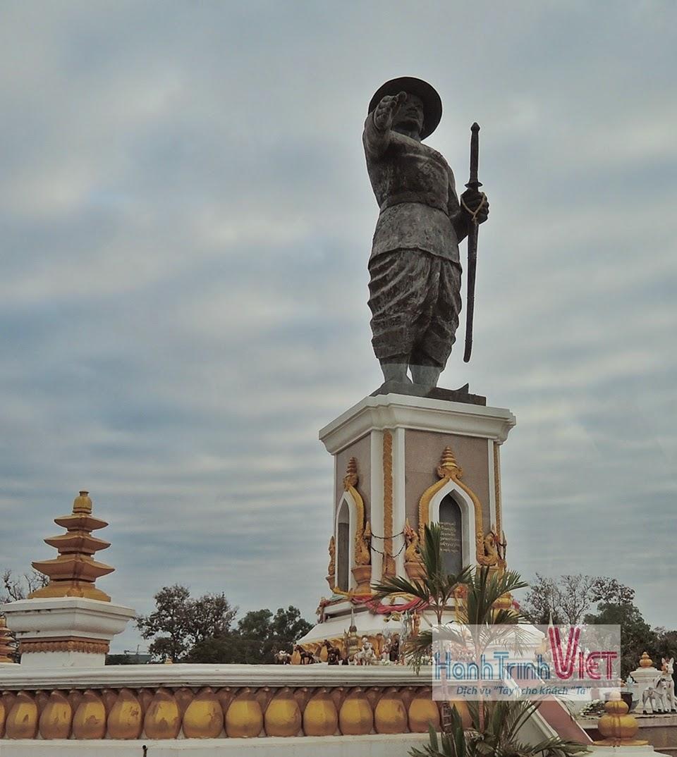 Qua cửa khẩu Nongkhai, từ Viêng Chăn đi Phitsanulok, Thái Lan