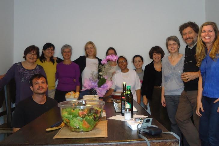Percival em 22 e 23/10/2011 -Encontro realizado na produtora Contém Conteúdo / SP