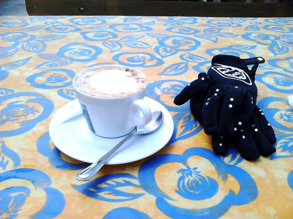 kaffe förbränning